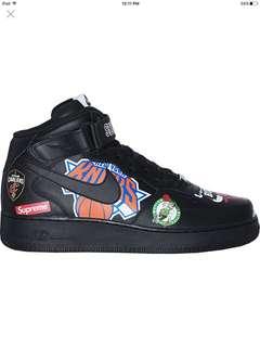 Supreme nba black / Air Force 1 MID