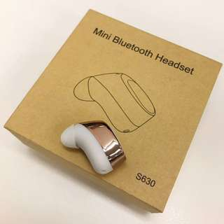 (New) Bluetooth Earphone 迷你藍牙耳機 - White