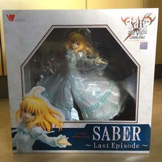 Fate/Stay Night Saber - Last Episode Figure