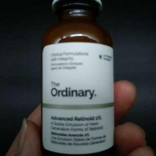 The Ordinary - Advanced Retinol 2% 30ml