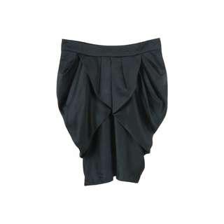 (X)SML Black Skirt