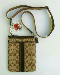 Coach Mongram Sling Bag