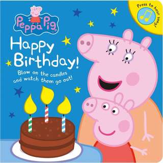 Peppa Pig: Happy Birthday! : Blow on the candles and watch them got out!