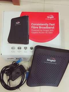 Singtel Fast Fibre / wifi Gigabit Router AC Elite