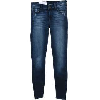 7 For All Mankind Dark Blue Washed Pants