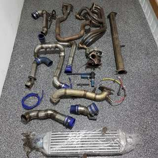 Subaru turbo kit - Complete set