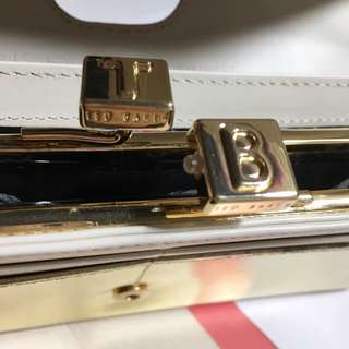 Ted Baker金色錢包wallet