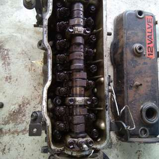 2E head engine toyota ae90 1.3