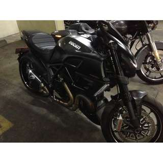 DUCATI DIAVEL CARBON 2012 LEGAL PAPER ATPM
