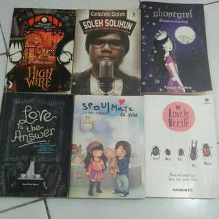 Novel terjemahan & indo