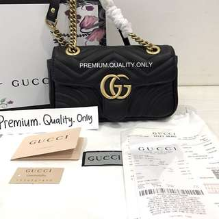 Customer's Order Gucci Marmont metalesse