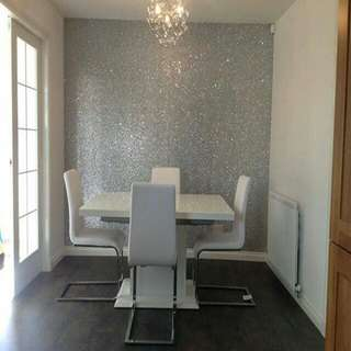 10m glitter wallpaper sparkling