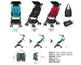 租用GB Pockit bb 車 第三代 Plus Stroller Rental