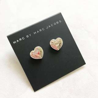 Marc Jacobs 心心 耳環 Marc By Marc Jacobs Earring MJ MBMJ