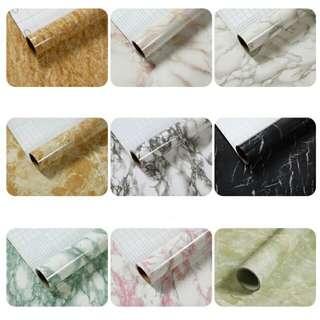 5m Marble granite wallpaper sticker contact paper