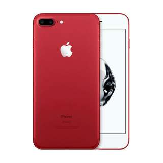 Kredit iphone 7 plus 128GB Red limitid edition