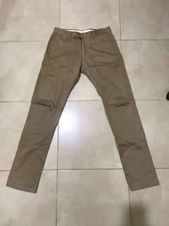 """THE EXECUTIVE"" chino pants"