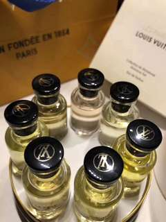 💯 Authentic Louis Vuitton Miniature Set EDP Perfumes