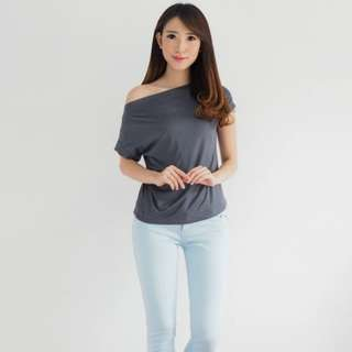 Scarlet Top Gray