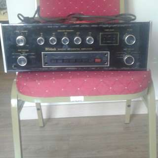 Antique Integrated Amplifier