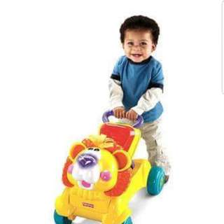 Fisher price 2N1 ride on car