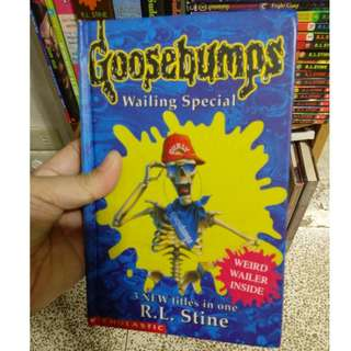 Goosebumps Hardcover Wailing Special