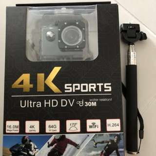 Allwinner 3V 4K WiFi sports camera