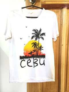 Cebu White Tshirt