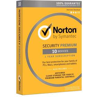 [3 Years] Norton Security Premium 2018