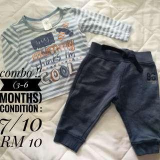 Set Baby Boy (3-6 months)