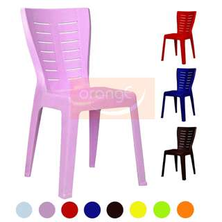 3V High Quality Stackable Dining Plastic Chair EL-701 - 6 Pcs