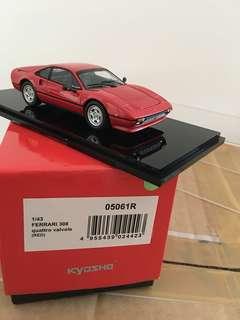 1/43 Ferrari 308 Quattrovalvole. Red. Kyosho