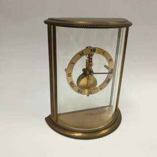 Jaeger-Le Coultre skeleton clock 積家魚骨鐘