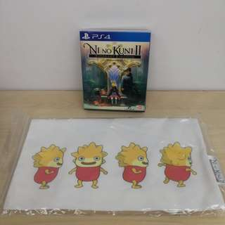 (Brand New) PS4 Ni No Kuni II Revenant Kingdom Prince Edition with FREE Tote Bag / R3