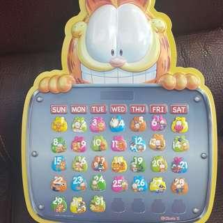 7仔加菲貓月曆連31個磁石貼