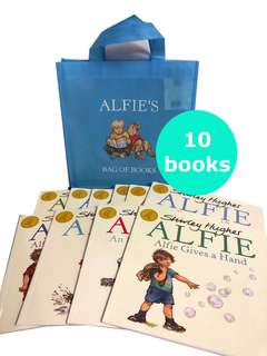 Alfie Set by Shirley Hughes (10 books)
