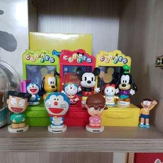 迪士尼+哆啦a夢組