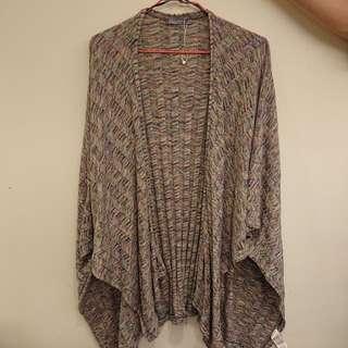 Zara民族風混色百搭罩衫