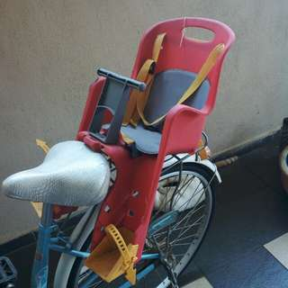Baby bicycle chair