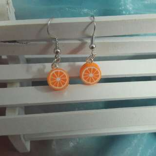 Handmade Cute Fruit clay earring