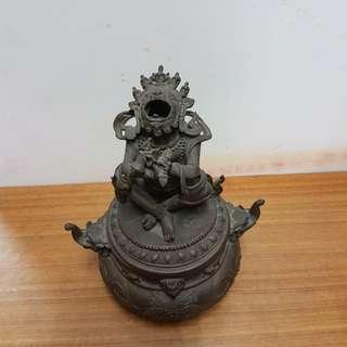 西藏铜熏炉