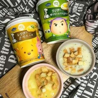 韓國 GS25 Tsum tsum 杯湯 (4月11已到期)