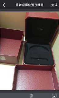 Cartier盒 手鐲盒 卡地亞