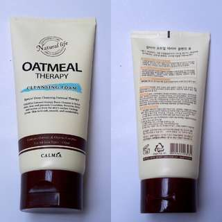 Calmia Oatmeal Theraphy Cleansing Foam
