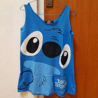Stitch and Felix the Cat Tank Top