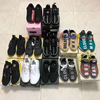 Adidas , Nike Sneaker Sales