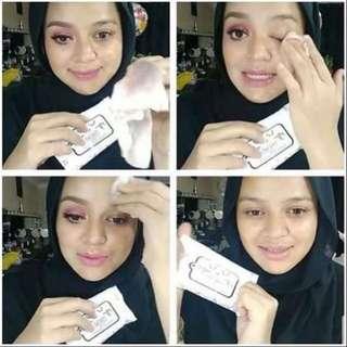 Sufia tisu totally clean makeup remover