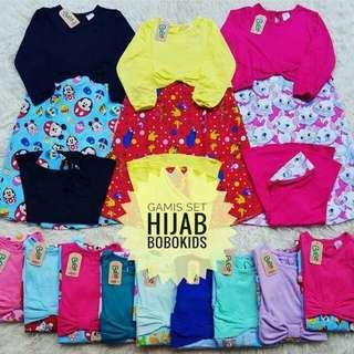 Gamis Set Hijab Murah...!