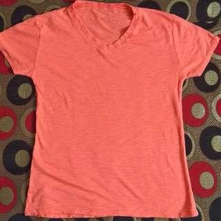 Orange Sport T-shirt