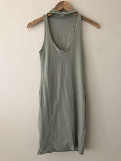 Khaki dress (Kookai size 1)